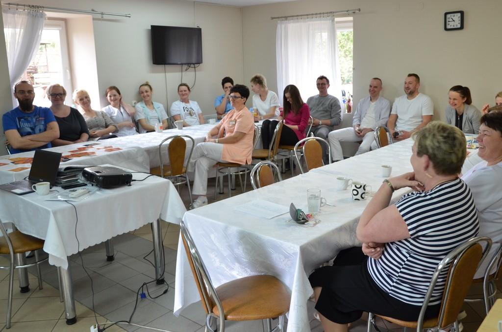 Szkolenie Dla Pracowników Domu Dom Pomocy Społecznej W Skrzynnie